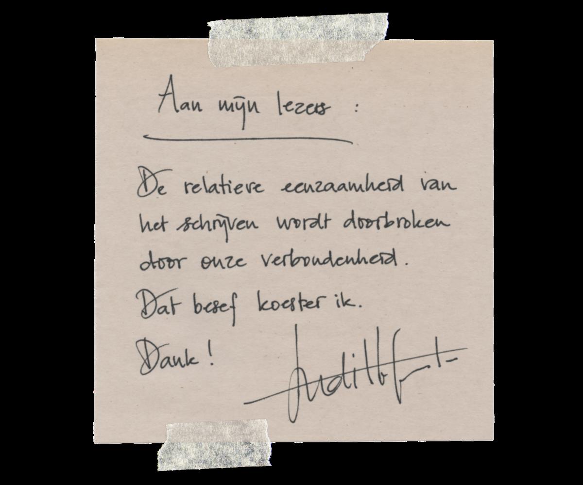 Judith Fanto Aan mijn lezers NL V.2 (2)