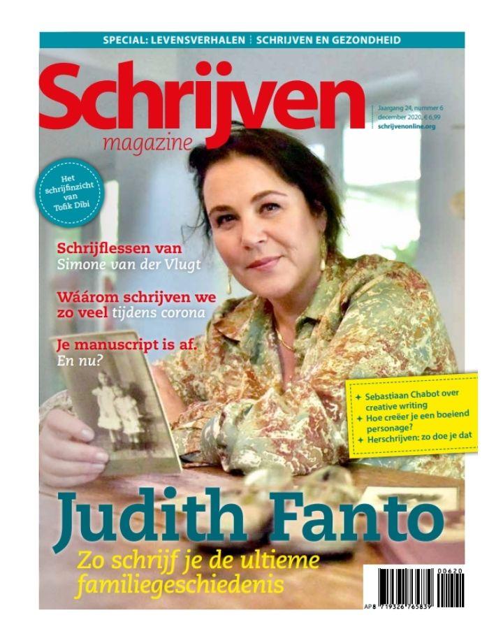 Judith Fanto Schrijven Magazine 1