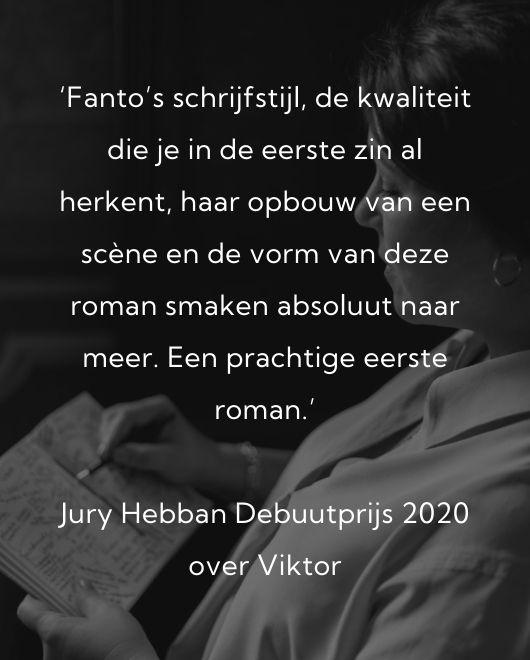 Judith Fanto recensie Jury Hebban Debuutprijs back