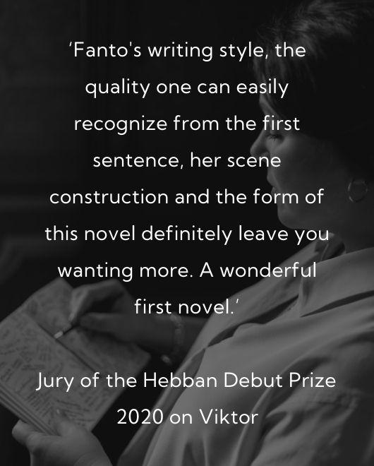 Judith Fanto review Jury Hebban Debuutprijs back